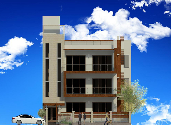Top architect for best design of builder floors for Architecture design for home in ghaziabad